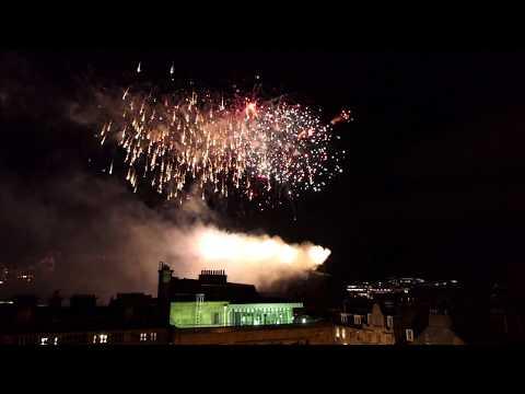 Edinburgh Festival Fireworks 2018