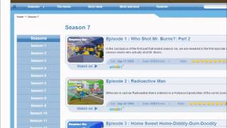 Watch Simpsons Online For Free