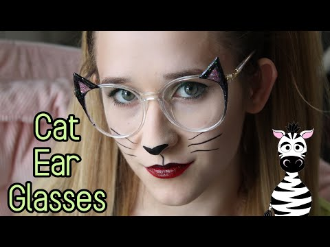 3D Cat Ear Glasses Acrylic Nail Art Tutorial   Firmoo   MelodyMinutes thumbnail