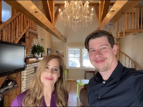 Seasonal Lakefront Home in Fawnskin California Full Property Tour