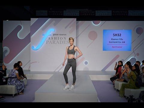 Live@Global Sources Fashion Show – Sports Fashion Show