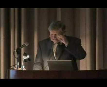 2007 Commemorative Lecture--- Dr. Peter Shaw Ashton