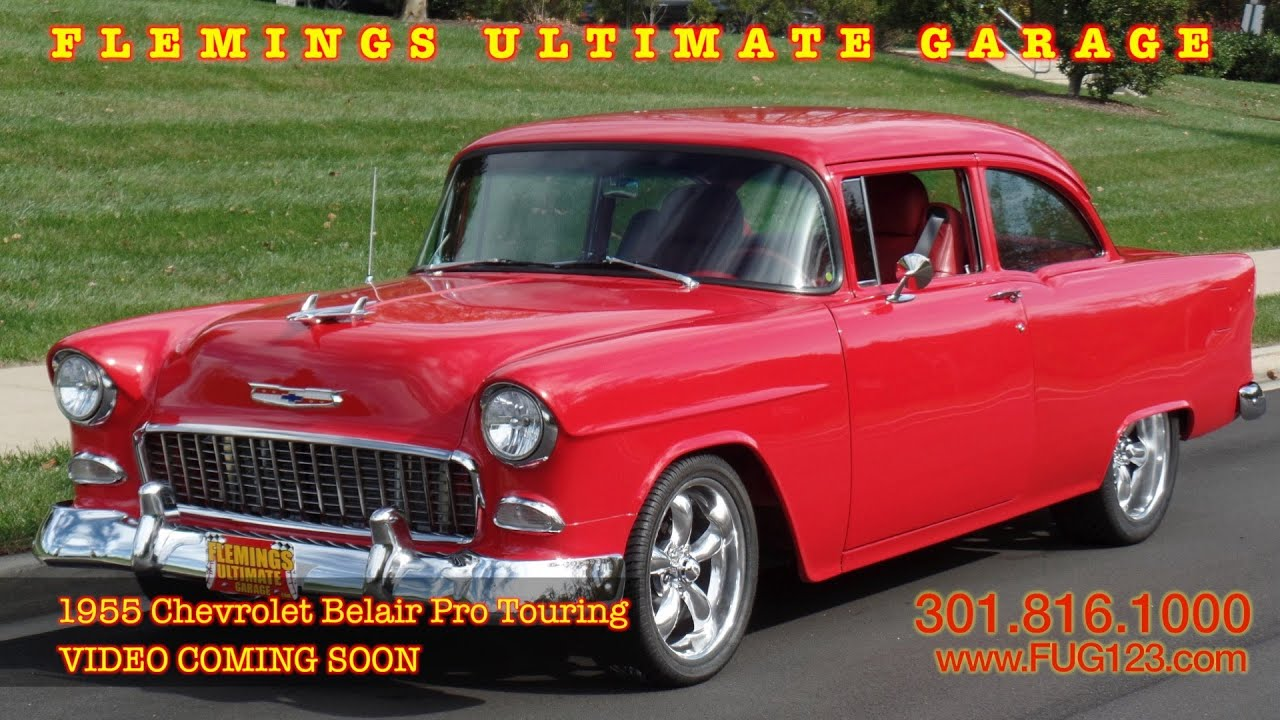 1955 Chevrolet Belair Pro Touring VIDEO COMING SOON flemings ...
