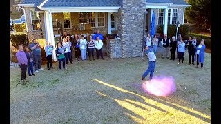Exploding Pink Golf Ball - It