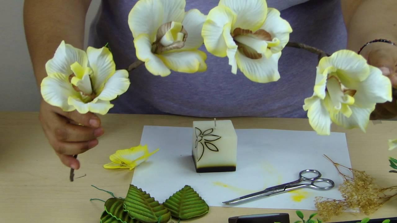 Centro de mesa boda xv a os parte 2 youtube - Mesas de centro que se elevan ...
