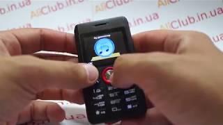 обзор Melrose M18 - самый маленький и легкий мобильный телефон