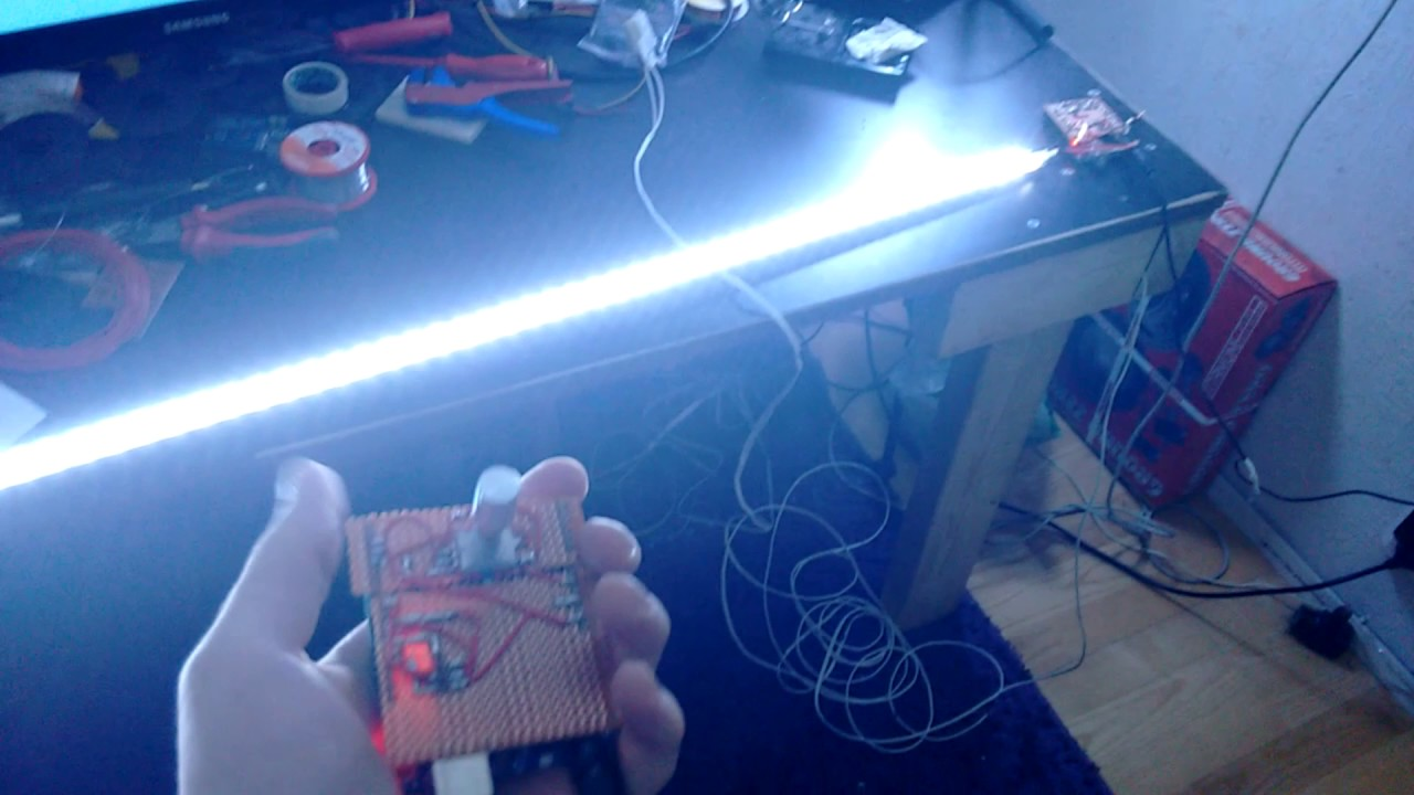 Arduino wireless LED dimmer / Controller with Color Changer