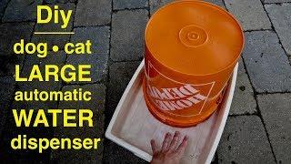 Diy ● 5 Gallon DOG Water Station