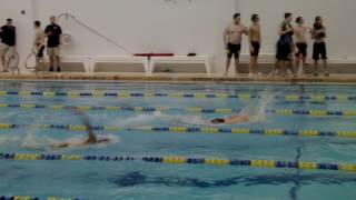 Kenmore East vs Niagara Falls 100 yard freestyle