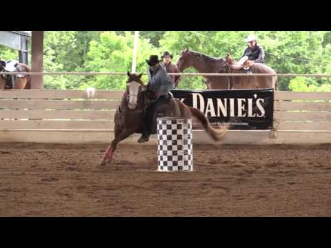 2017, Barrel Racing, Rodeo In The Rock