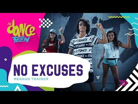 No Excuses - Meghan Trainor | FitDance Teen (Coreografía) Dance Video
