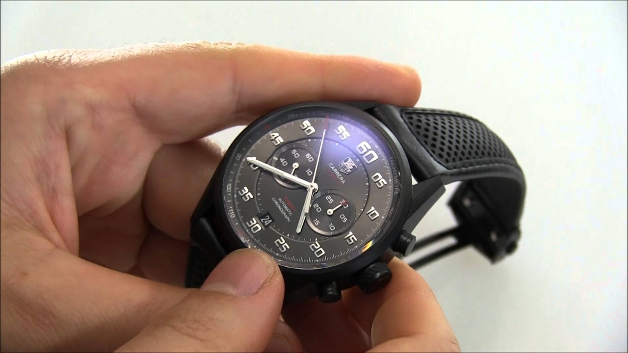 91811ce127b TAG Heuer Carrera Calibre 36 Racing Chronograph Watch Review - YouTube
