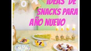 Snacks, Piqueos para Fiestas de Año Nuevo - malir15 Thumbnail