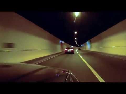 Audi C5 RS6, B8 RS4's & Nissan GTR - Hindhead Tunnel FULL