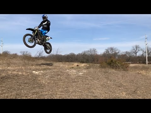 Testing 2009 Kx 250f monster edition!!!