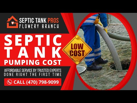 Septic Tank Pumping Cost in Maximo