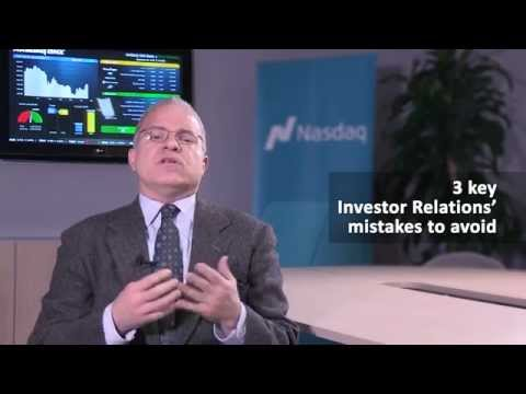 3 key Investor Relations' mistakes to avoid