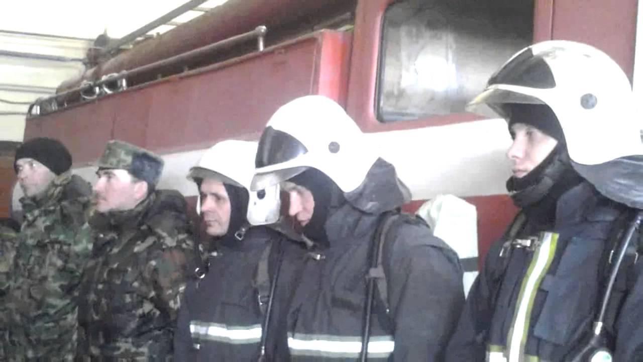 доведения табеля боевого расчета дежурного караула пожарной охраны