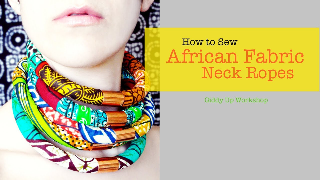 fashion diy african necklace neck ropes youtube