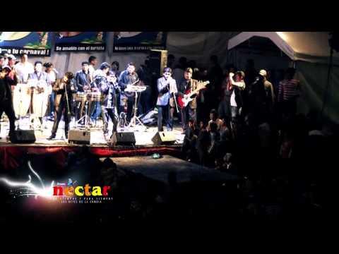 TOUR COLOMBIA 2014 - GRUPO NECTAR - BOTELLITA DE RON
