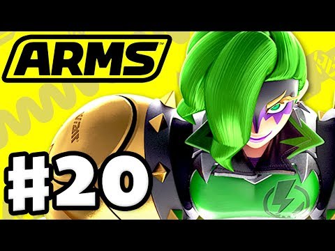 ARMS - Gameplay Walkthrough Part 20 - Dr. Coyle Party and Ranked!
