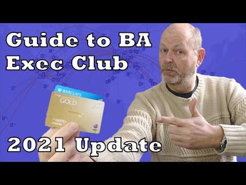 Updates to the British Airways Executive Club - May 2021