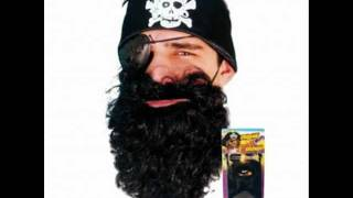 Captain Black Beard - Pirate beard