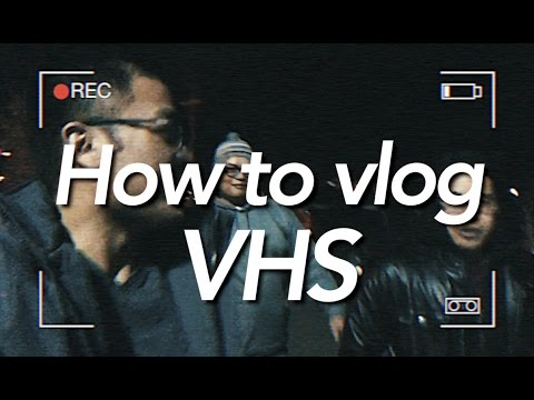 How to do a VHS look on Final Cut Pro X | Vlog 35