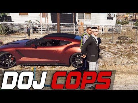Dept. of Justice Cops #502 - Blowin