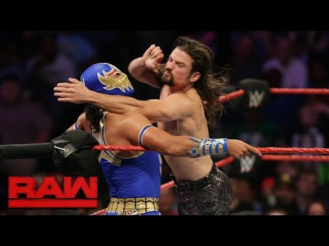 Fatal 4-Way Cruiserweight Championship No. 1 Contender's Match: Raw, Sept. 19, 2016