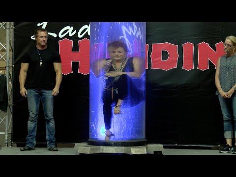 Lady Houdini - Living Illusions Show - 2016 W.C. Fair
