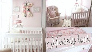 BABY GIRL NURSERY TOUR 2018!