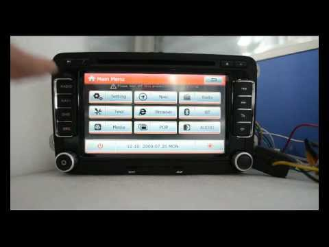 S100 Car Dvd Gps Navigation For Vw Golf 6 Etc W Bt Rds