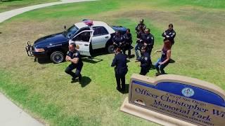 San Diego Police Department Running Man Challenge