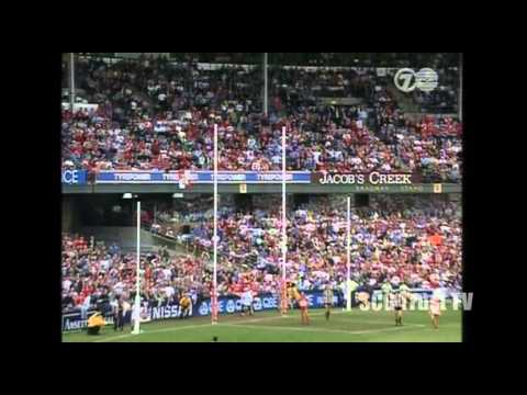 SCG Memorable Moments - Sydney Swans Tony Lockett's 1,300th goal