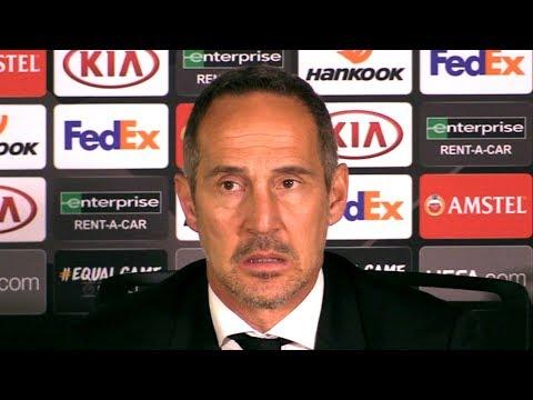 Chelsea 1-1 Frankfurt (Agg 2-2 Pens 4-3) Adi Hütter Full Post Match Press Conference - Europa League