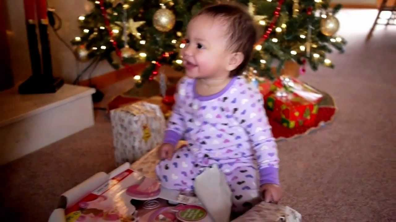 babys first christmas morning