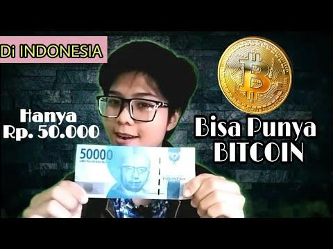 Di Indonesia, Hanya 50 Ribu Bisa Punya BITCOIN | Traiding Investasi Beli Bitcoin
