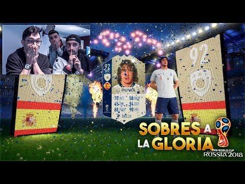 ICONO ESPECTACULAR DEL MUNDIAL!!!! LOCURA de PACK OPENING DE FIFA WORLD CUP