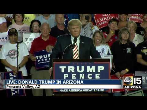 FULL SPEECH Donald Trump Prescott Valley, Arizona