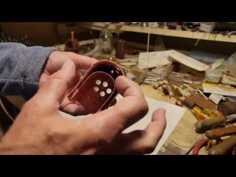 Boiler making for live steam model locomotive. Part 4