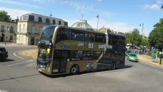 Gloucester to Cheltenham by Bus Cotswolds  England 2018