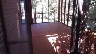 "Wood Re New Screened Porch And Large Deck Cleaning, Staining, Sealing Sanford Nc ""after"" Video"