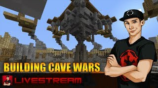 Minecraft Xbox 360 - (Actually) FINISHING & Playing CaveWars Livestream! Thanks For 6K Subscribers!