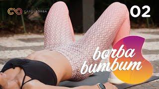 Treino forte para levantar os glúteos rápido #BorbaBumbum 02 - Carol Borba