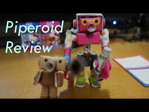 Papercraft Piperoid Product Review
