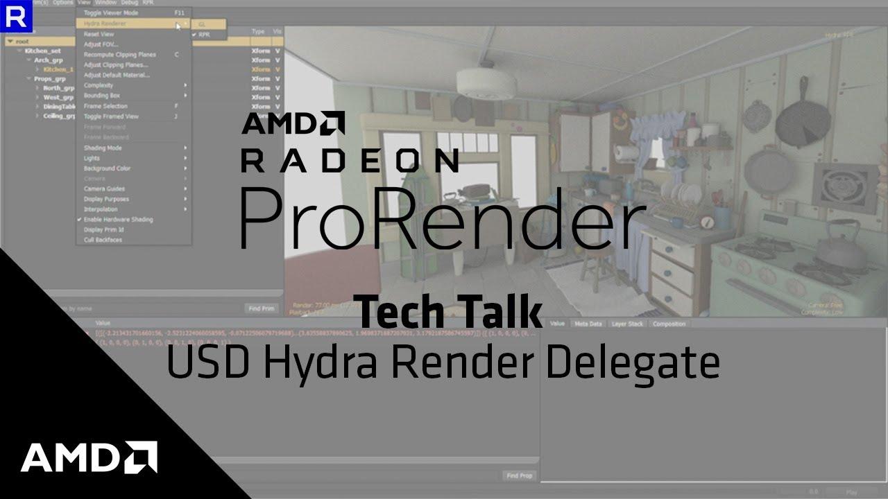 AMD Radeon™ ProRender for Developers   AMD