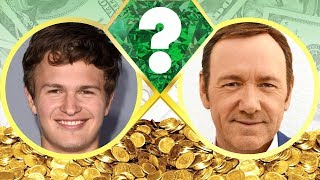 WHO'S RICHER? - Ansel Elgort or Kevin Spacey? - Net Worth Revealed! (2017)