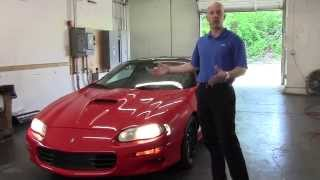 2001 Chevy Camaro SS review - Joe Tunney dropping science on the 2001 Camaro SS