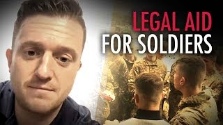 (#IAmSoldierX UPDATE) Tommy Robinson: We've retained legal counsel to defend British soldiers